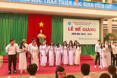 Lễ bế giảng năm học 2019-2020 của trường THPT DTNT N' TRang Lơng tỉnh Đăk Nông