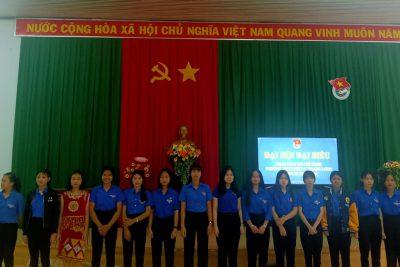 Đại Hội Đại Biểu Đoàn TNCS Hồ Chí Minh trường THPT DTNT N'Trang Lơng nhiệm kỳ 2020-2021