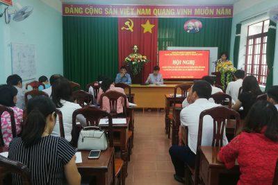 Đảng bộ Trường THPT DTNT N'Trang Lơng tổ chức Hội nghị sơ kết công tác Đảng 6 tháng đầu năm 2020